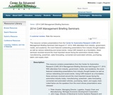 2014 CAR Management Briefing Seminars