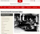 Historical Scientific Instrument Gallery