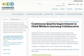 Continuous Quality Improvement in Child Welfare Learning Collaborative