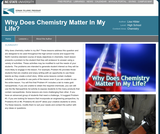 Why Does Chemistry Matter In My Life?