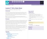 CS Principles 2019-2020 8.7: Tell a Data Story