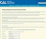 Proficiency Test in Arabic Reading (PTARC)