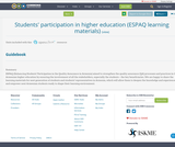Students' participation in higher education (ESPAQ learning materials)