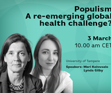 Nordic Global Health Talks #3: Populism – a re-emerging global challenge?