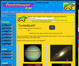 Astronomy Sliding Puzzle Game