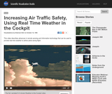 Increasing Air Traffic Safety, Using Real Time Weather in the Cockpit