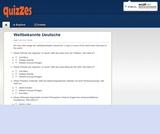 Weltbekannte Deutsche - Quiz