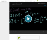 Differential Equations: Laplace Transform 1