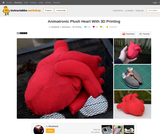 Animatronic Plush Heart With 3D Printing : 3 Steps (with Pictures)