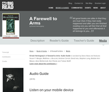 A Farewell to Arms by Ernest Hemingway - Audio Guide