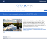 Environmental Applications of GIS