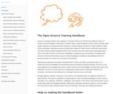 The Open Science Training Handbook