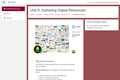 Kenya ICT CFT Course: Authoring Digital Resources
