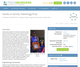 Naked Egg Drop