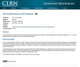 CK-12 Earth Science (CA Textbook)