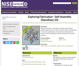 Exploring Fabrication - Self-Assembly