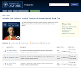 Introduction to David Hume's Treatise of Human Nature Book One Series