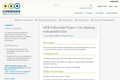 OER Fellowship Project: City planning with parallel lines