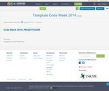 Template Code Week 2014