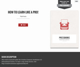 How to Learn Like a Pro!