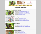 Seasonal Migrations: Robin