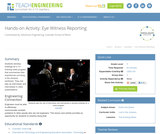 Eye Witness Reporting