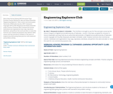Engineering Explorers Club