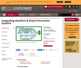 Integrating eSystems and Global Information Systems, Spring 2002