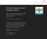 PCC OER: A Digital Workbook for Beginning ESOL