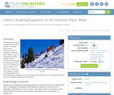 Graphing Equations on the Cartesian Plane: Slope