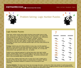 Problem Solving: Logic Number Puzzles