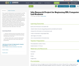 Jobs Research Project for Beginning ESL Computer Lab Students