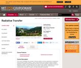 Radiative Transfer, Spring 2006