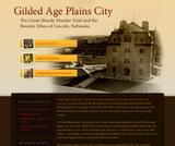 Gilded Age Plains City