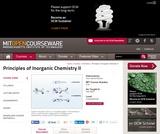 Principles of Inorganic Chemistry II, Fall 2008