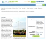 Windmill of Your Mind: Distributed Energy Goes to School