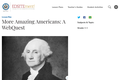 More Amazing Americans: A WebQuest