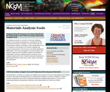 Implementing the CCSS for Mathematics: CCSS Curriculum Materials Analysis Tools