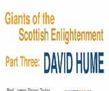 Giants of the Scottish Enlightenment: David Hume