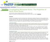 Investigating  Minnesota Rocks:  The Properties of North Shore Rocks