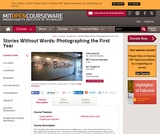 Stories Without Words: Photographing the First Year, Fall 2006
