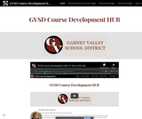 GVSD course development hub
