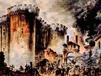 Prise de la Bastille , by Jean-Pierre Houel