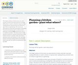 Planning a kitchen garden– plant what where?
