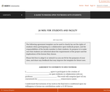 MOU for Students and Faculty – A Guide to Making Open Textbooks with Students