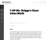 Mr. Brigg's Class Likes Math