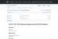 Syllabus: Software Engineering