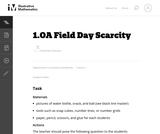Field Day Scarcity