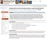 Collaborative Decision Making: NASA's Deep Impact Mission