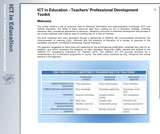 ICT in Education - Teachers' Professional Development Toolkit